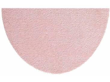 HANSE Home Fußmatte »Deko Soft«, U-förmig, Höhe 7 mm, saugfähig, waschbar, rosa, 7 mm, rosa