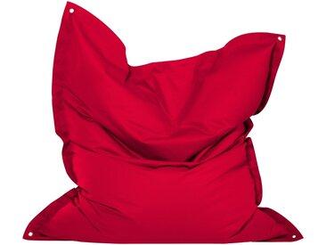 OUTBAG Sitzsack »Meadow Plus«, wetterfest, für den Außenbereich, H: 130 cm, rot, rot