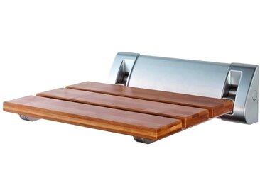 RIDDER Duschklappsitz Comfort, Gewicht: 2,377 Kg, das Holz saugt dank wasserabweisendem Lack kein Wasser auf