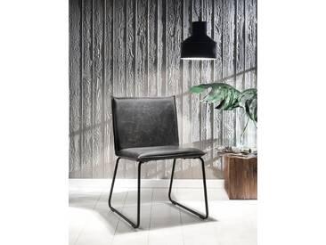 SIT Stuhl »2486« in Vintage-Optik (2er Set), grau, grau