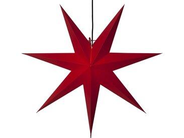 STAR TRADING Dekostern »Stern«, 1 Stück, faltbarer Papierstern, inkl. Lampenfassung Ø 70 cm