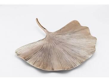 KARE Design Wandschmuck »Ginkgo Leaf«, silberfarben, Maße (B/T/H): 50/8/44 cm, silberfarben