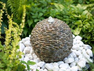 Ubbink ACQUAARTE/UBBINK Gartenbrunnen »Trente«, Ø/H: 34/34 cm, braun, braun