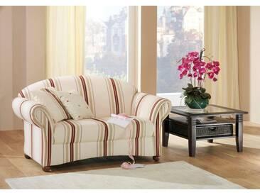 Max Winzer® 2-Sitzer Sofa »Carolina«, im Retrolook, Breite 150 cm, natur, weiß gestreift