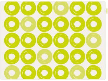 Contento Platzset »Jay - Ringe« (Set 2-tlg), grün, Silikon, weiß-grün
