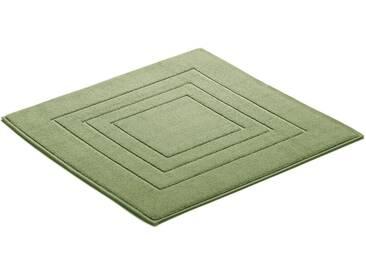Vossen Badematte »Feeling« , Höhe 10 mm, fußbodenheizungsgeeignet, grün, 10 mm, light jade