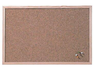 FRANKEN Kork-Pinnwand 40 x 30 cm »CC-KT3040E«, braun, braun