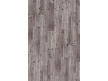 Infloor INFLOOR Teppichfliese »Velour Holzoptik Eiche grau«, selbsthaftend 25 x 100 cm, grau, hellgrau