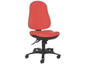 TOPSTAR Bürostuhl ohne Armlehnen »Trend 10«, rot, rot