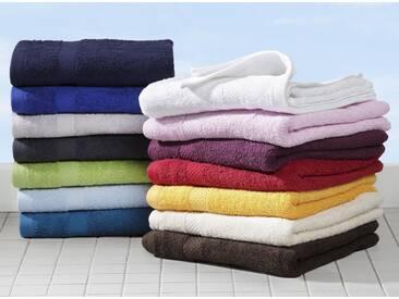 Dyckhoff Handtuch Set »Planet«, aus reiner Bio-Baumwolle (4tlg. oder 10tlg.-Set), rot, 10tlg.-Set, beere