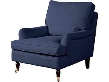 Max Winzer® Sessel »Poesie«, blau, dunkelblau