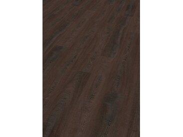 EGGER Laminat »HOME Toscolano Eiche sepia«, 1291 x 193 mm, Stärke: 8 mm, schwarz, schwarz