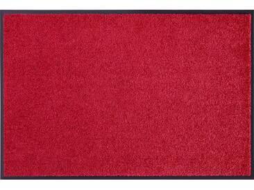 HANSE Home Fußmatte »Wash & Clean«, rechteckig, Höhe 7 mm, waschbar, rot, 7 mm, bordeaux