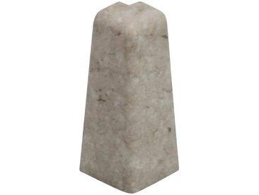 EGGER Außenecke »Stein weiß«, Außeneck-Element für 6cm Sockelleiste, 2 Stk., weiß, weiß/stein
