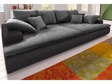 Nova Via Big-Sofa, schwarz, ohne Beleuchtung, schwarz
