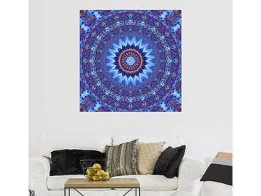 Posterlounge Wandbild - Christine Bässler »Mandala Sahasrara«, bunt, Acrylglas, 120 x 120 cm, bunt