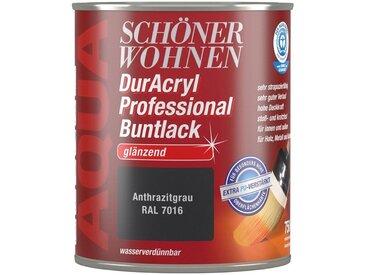 SCHÖNER WOHNEN-Kollektion Schöner Wohnen Farbe Buntlack »DurAcryl Professional glänzend, 750 ml anthrazitgrau«, grau, grau