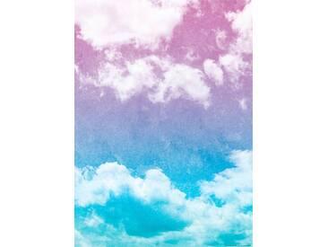 Idealdecor IDEALDECOR Fototapete »Grunge Himmel«, Vlies, 2 Bahnen, 183 x 254 cm, bunt, bunt