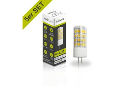 INNOVATE LED-Leuchtmittel im 5er-Pack, weiß, weiss