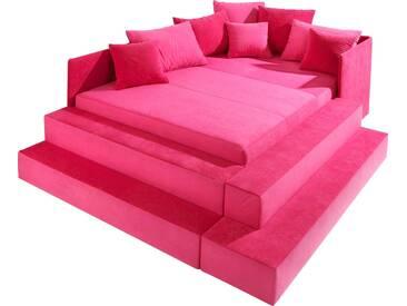 Maintal Polsterbett, rosa, rosa, pink