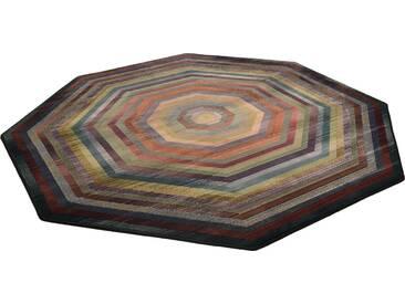 THEKO Teppich »Gabiro 001«, mehreckig, Höhe 10 mm, bunt, 10 mm, bunt