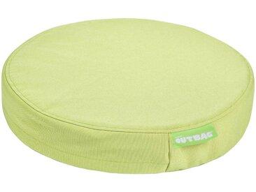 OUTBAG Auflage »Disc pillow PLUS«, wetterfest und robst, für den Außenbereich, Ø: 45 cm, grün, 1 Auflage, grün