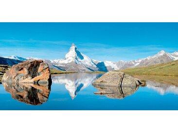 bella jolly JOLLYTHERM Packung: Heizkörperverkleidung »Bergsee«, Flexi-Cover Magnetfolie 60 x 80 cm, bunt, 60 cm, bunt