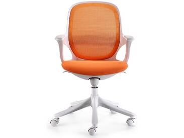Amstyle Chefsessel »MAGLO«, orange, orange-weiss