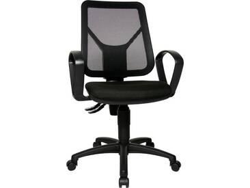 TOPSTAR Bürostuhl »Airgo Net«, schwarz, schwarz