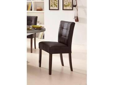 Stühle (2 Stück), braun, vintage braun