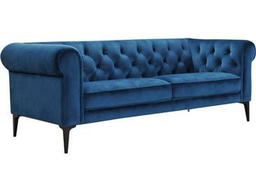 Premium collection by Home affaire 3-Sitzer »Tobol« im modernen Chesterfield Design, grün, ocean