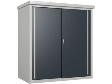 50NRTH Geräteschrank »Guardian«, grau, grau