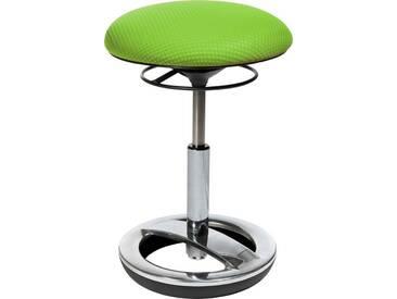 TOPSTAR Dreh-Hocker »Sitness Bob«, grün, Aluminium poliert, grün