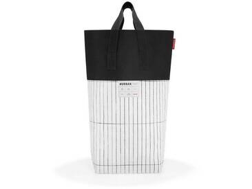 REISENTHEL® Wäschekorb »urban laundry tokyo«, weiß, black & white