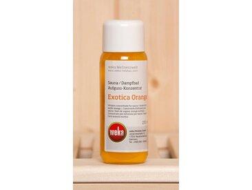 weka WEKA Aufgusskonzentrat »Exotica Orange«, 250 ml, weiß, weiß