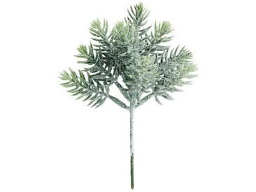 BUTLERS WINTERGREEN »Blätterzweig geeist 17 cm«, Länge 17 x Breite 8 cm