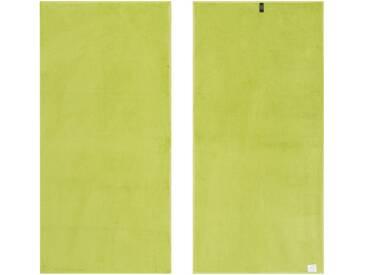 Vossen Saunatuch »New Generation«, große Farbauswahl, grün, Walkfrottee, grün