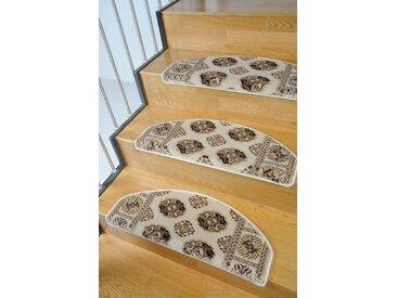 Living Line Stufenmatte »Klassiko 1«, stufenförmig, Höhe 13 mm, natur, 13 mm, beige