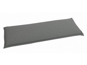 GO-DE Bankauflage (LxB): ca. 115x45 cm, grau, 1 Auflage, anthrazit