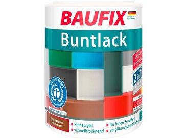 Baufix BAUFIX Acryl Buntlack seidenmatt nussbraun, 1 l, braun, 1 l, braun