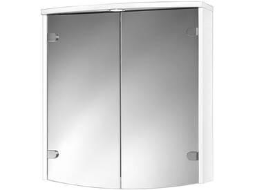 jokey Jokey Spiegelschrank »Joba« Breite 63 cm, mit LED-Beleuchtung, weiß, weiß