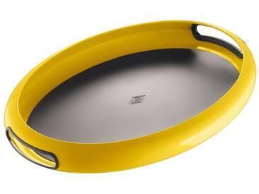 WESCO Wesco Tablett »SPACY TRAY«, gelb, L, Lemon