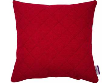 Tom Tailor Kissenhüllen »QUILTING«, rot, Polyester, rot