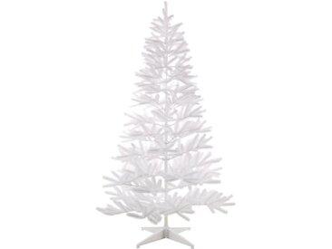 Künstlicher Weihnachtsbaum, in edlem Weiß, weiß, 210 cm, weiß