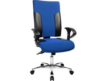 TOPSTAR Bürostuhl »Two 20«, schwarz, schwarz/blau