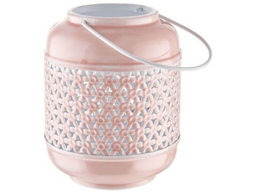 BUTLERS LOON »Laterne H 20 cm«, rosa, Rosé