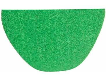 HANSE Home Fußmatte »Deko Soft«, U-förmig, Höhe 7 mm, saugfähig, waschbar, grün, 7 mm, grün