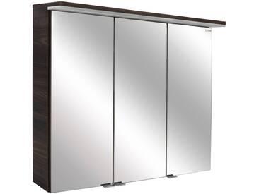 FACKELMANN Spiegelschrank »Yega«, Breite 80,5 cm, braun, braun