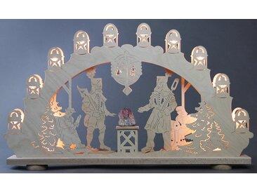 Weigla Lichterbogen »Bergmann«, 15-flammig mit Amethyst