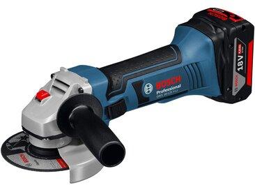 Bosch Professional Akkuwinkelschleifer »GWS 18-125 V-LI«, blau, 2 Akkus, blau